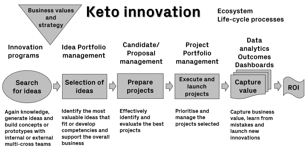 Innovation process model